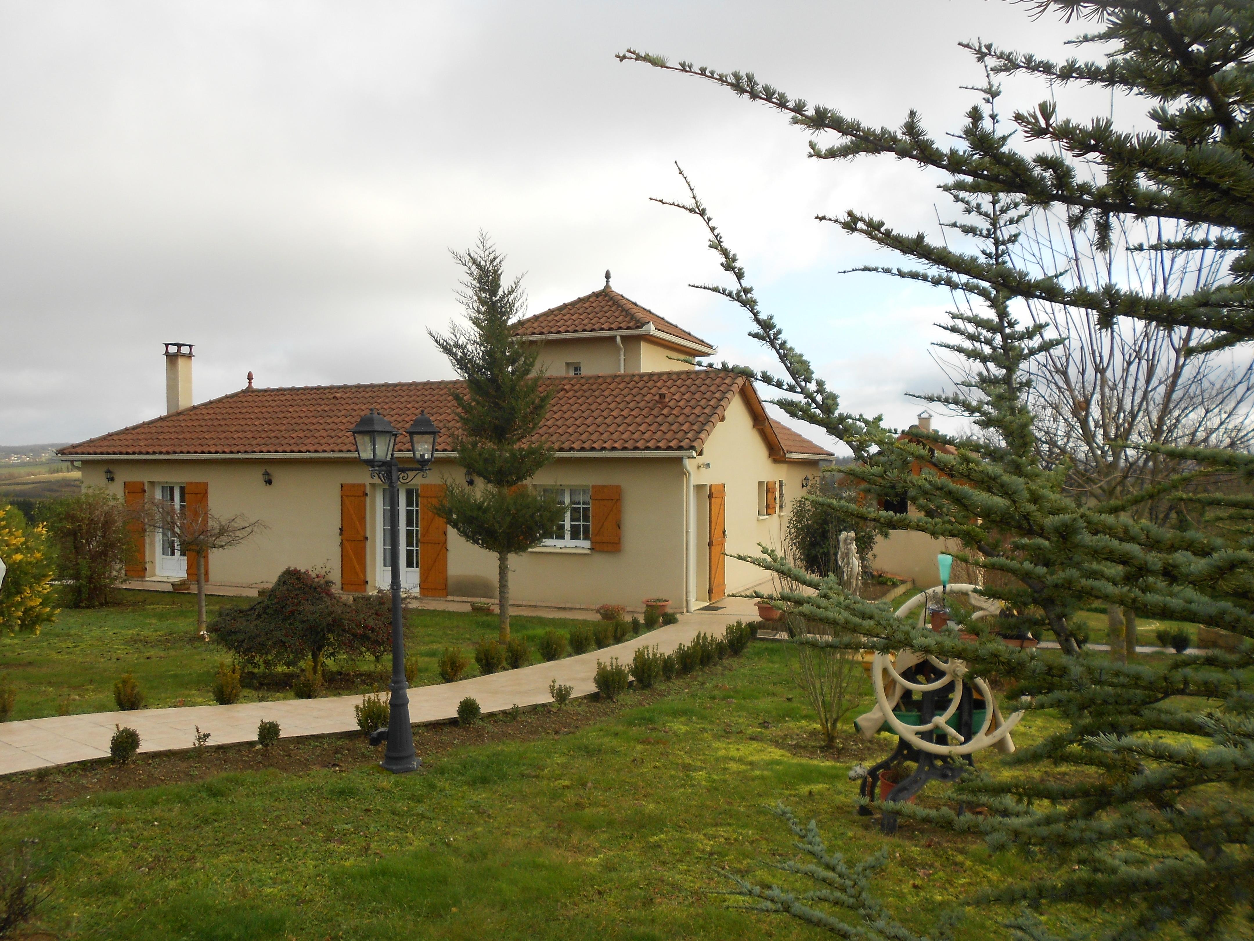 Villa récente à vendre à 5mn de Capdenac
