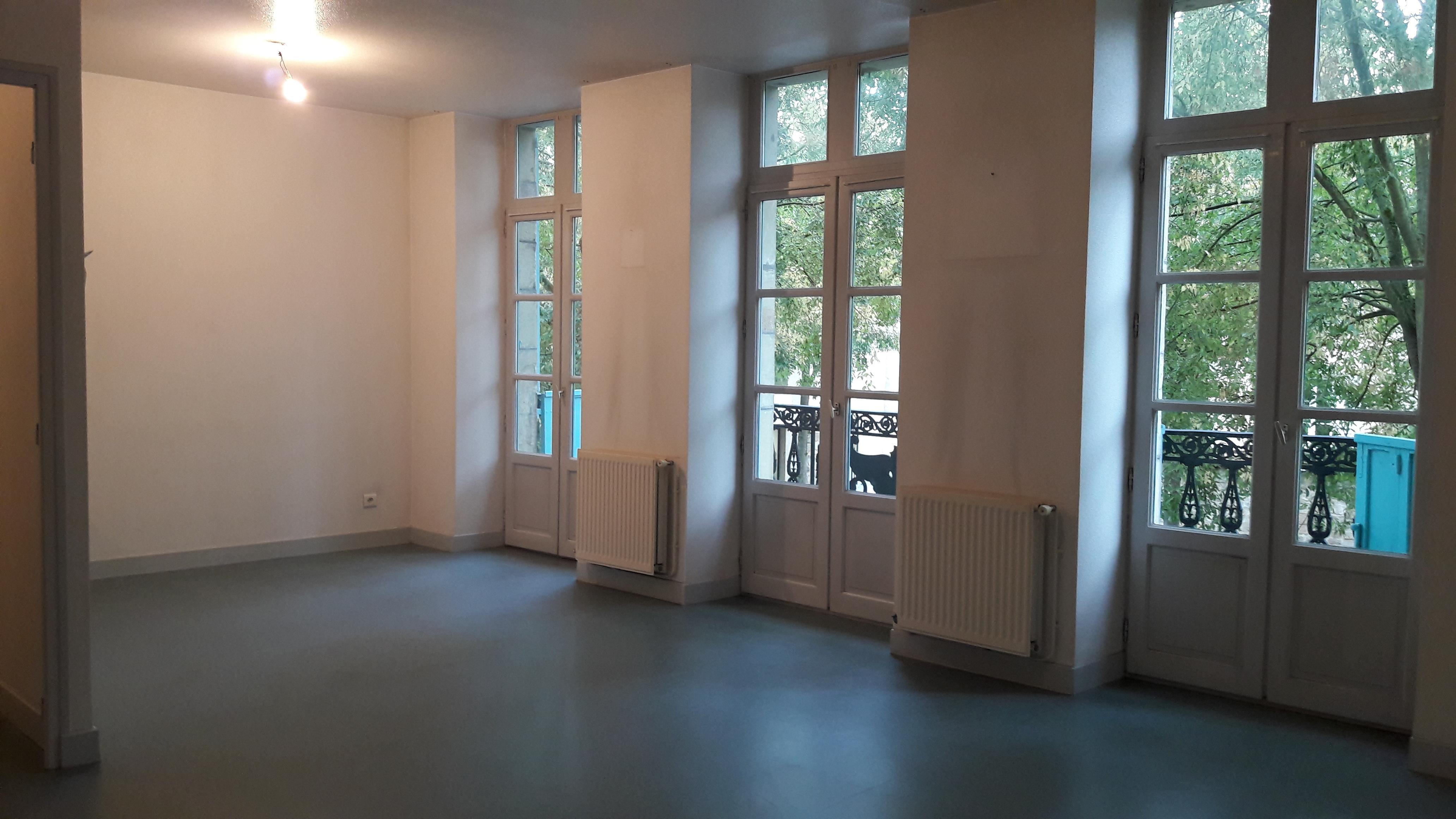 Appartement T2 avec balcon à FIGEAC centre