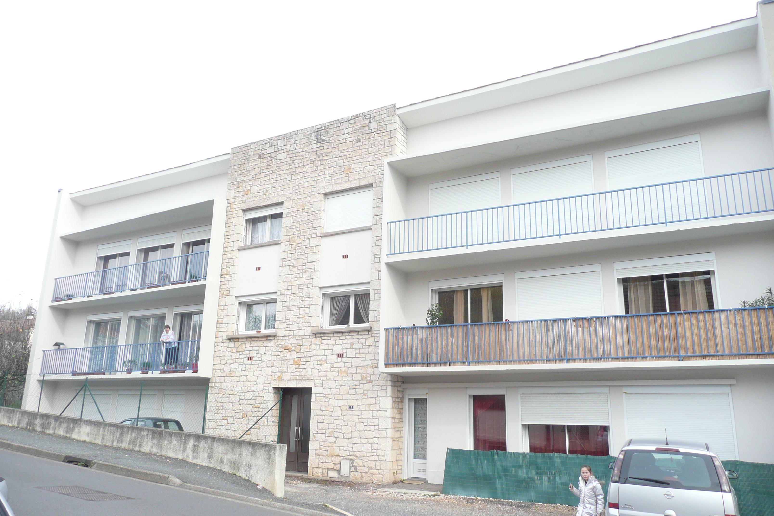 Appartement T3 en RDC à louer à FIGEAC
