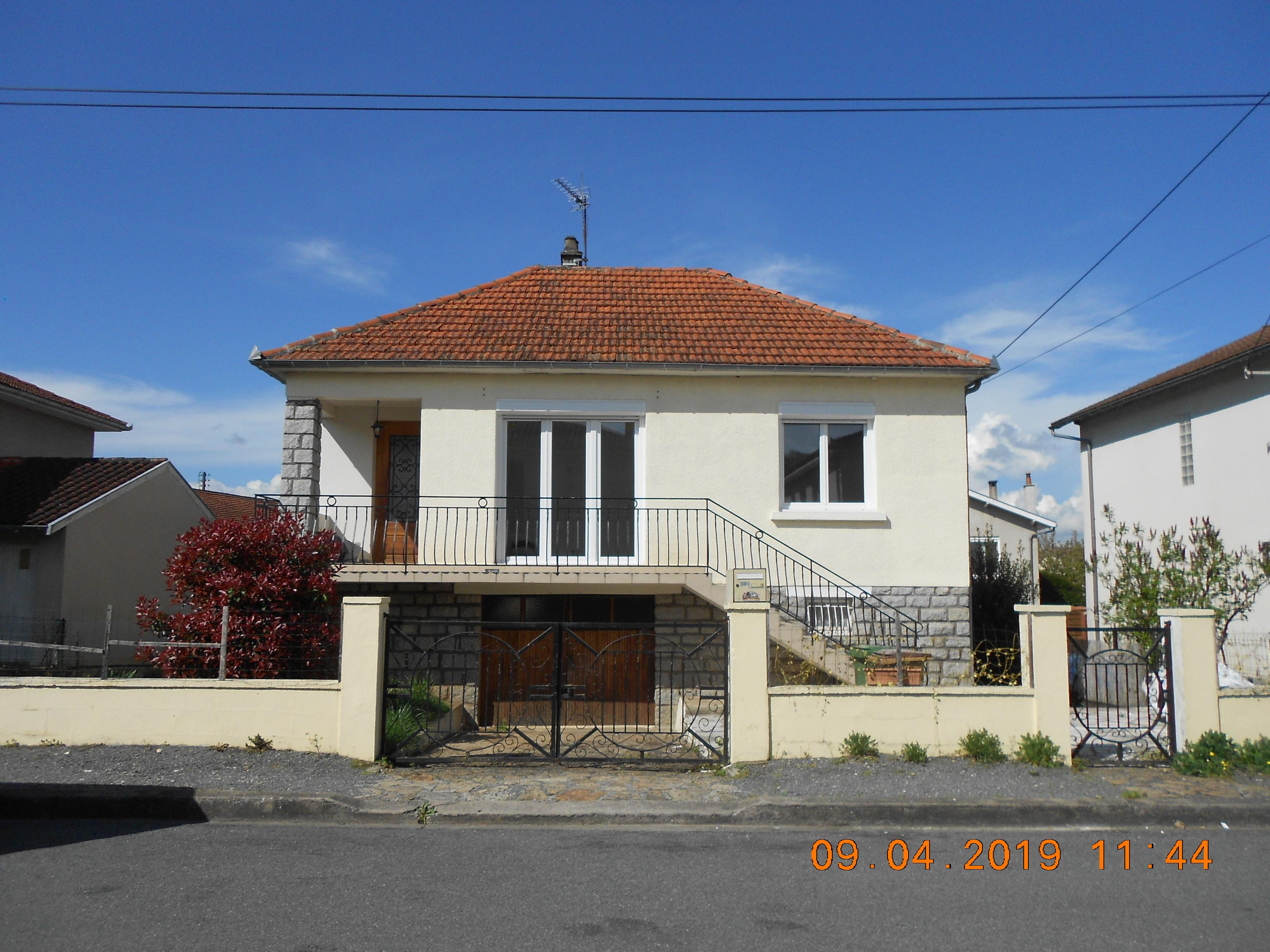 Pavillon T4 quartier residentiel Capdenac Gare
