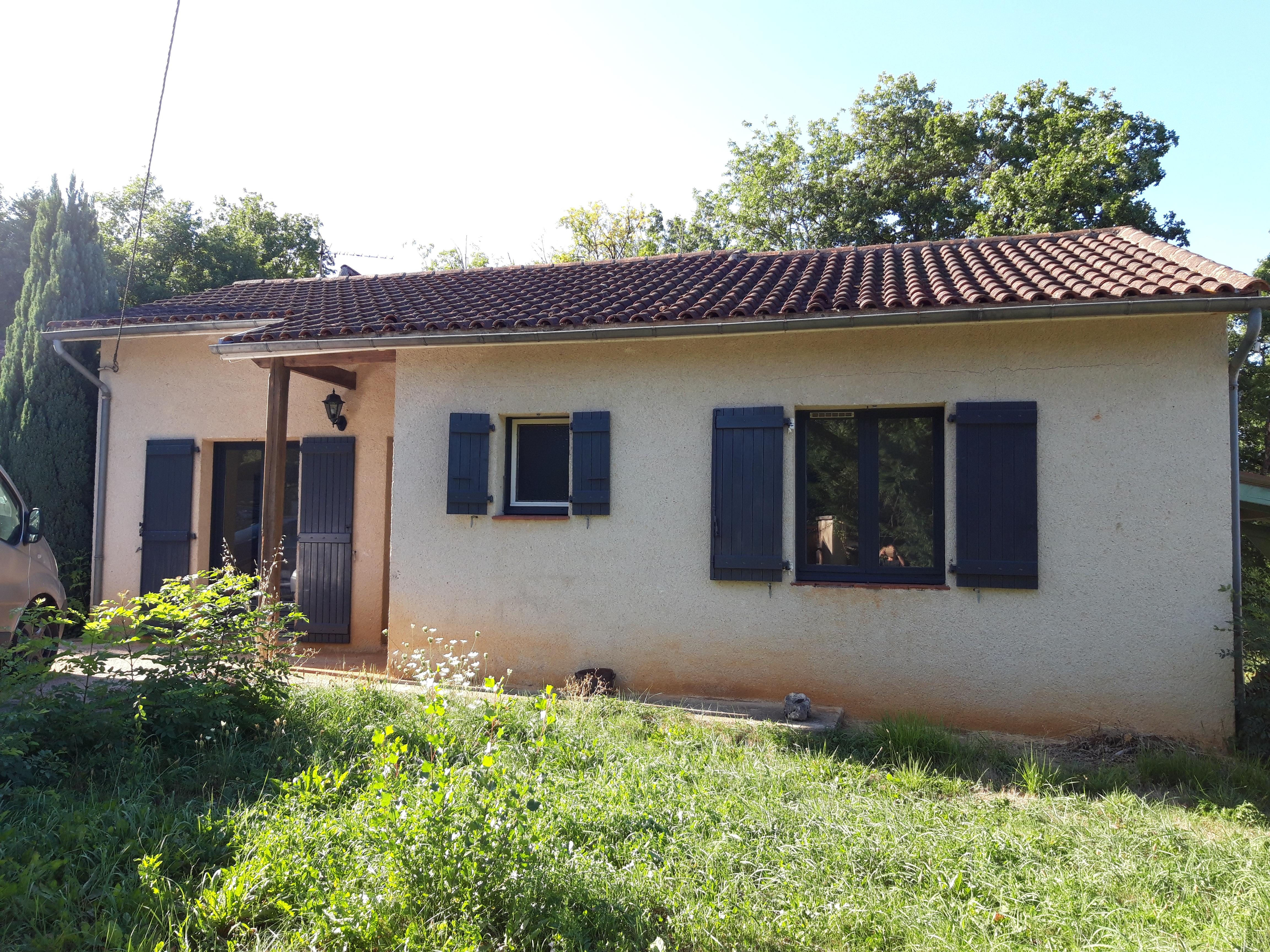 Maison de Plain-pied T4 à vendre à FIGEAC