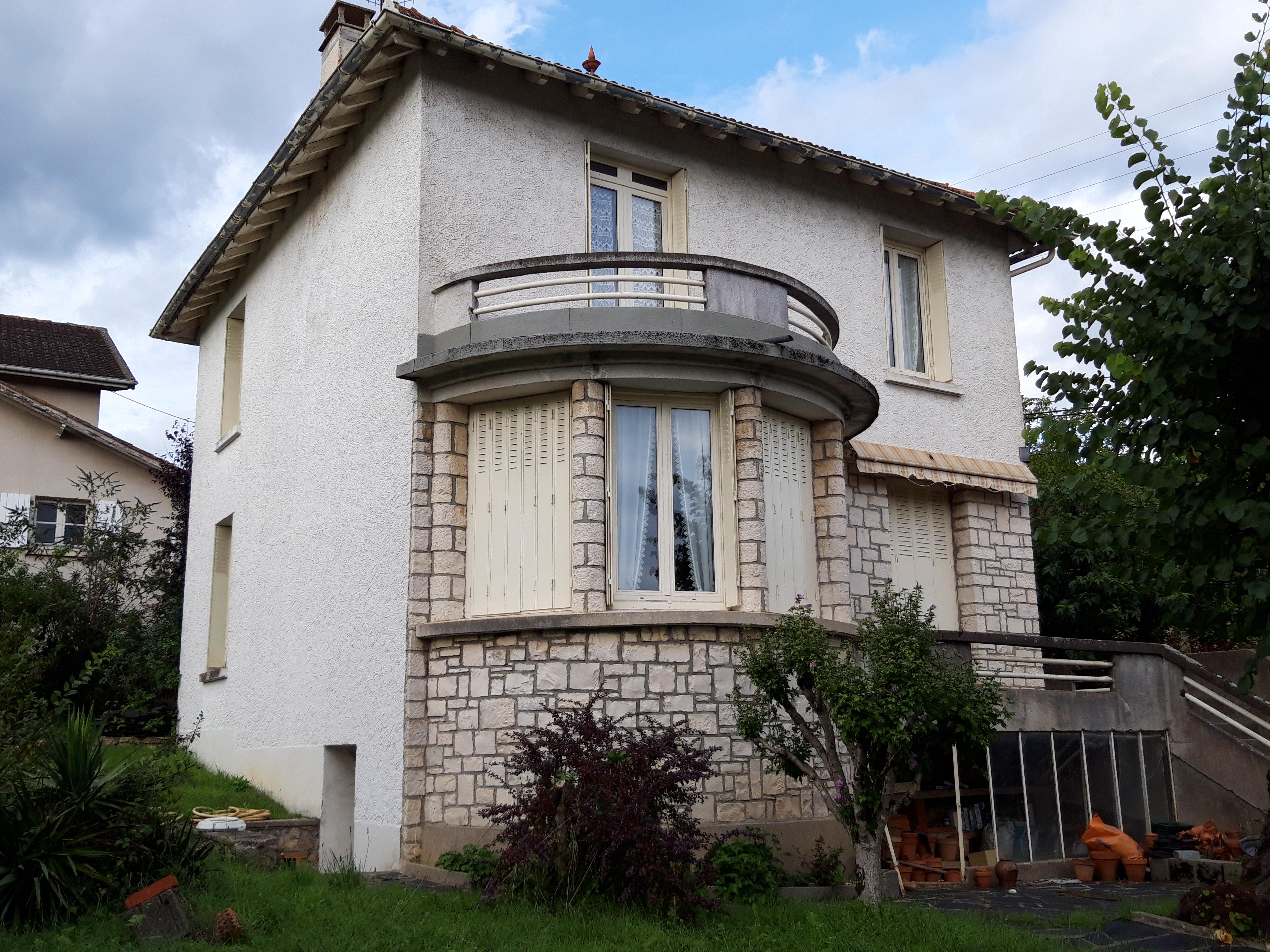 Jolie maison T5 à vendre en proximité immédiate du centre ville de FIGEAC