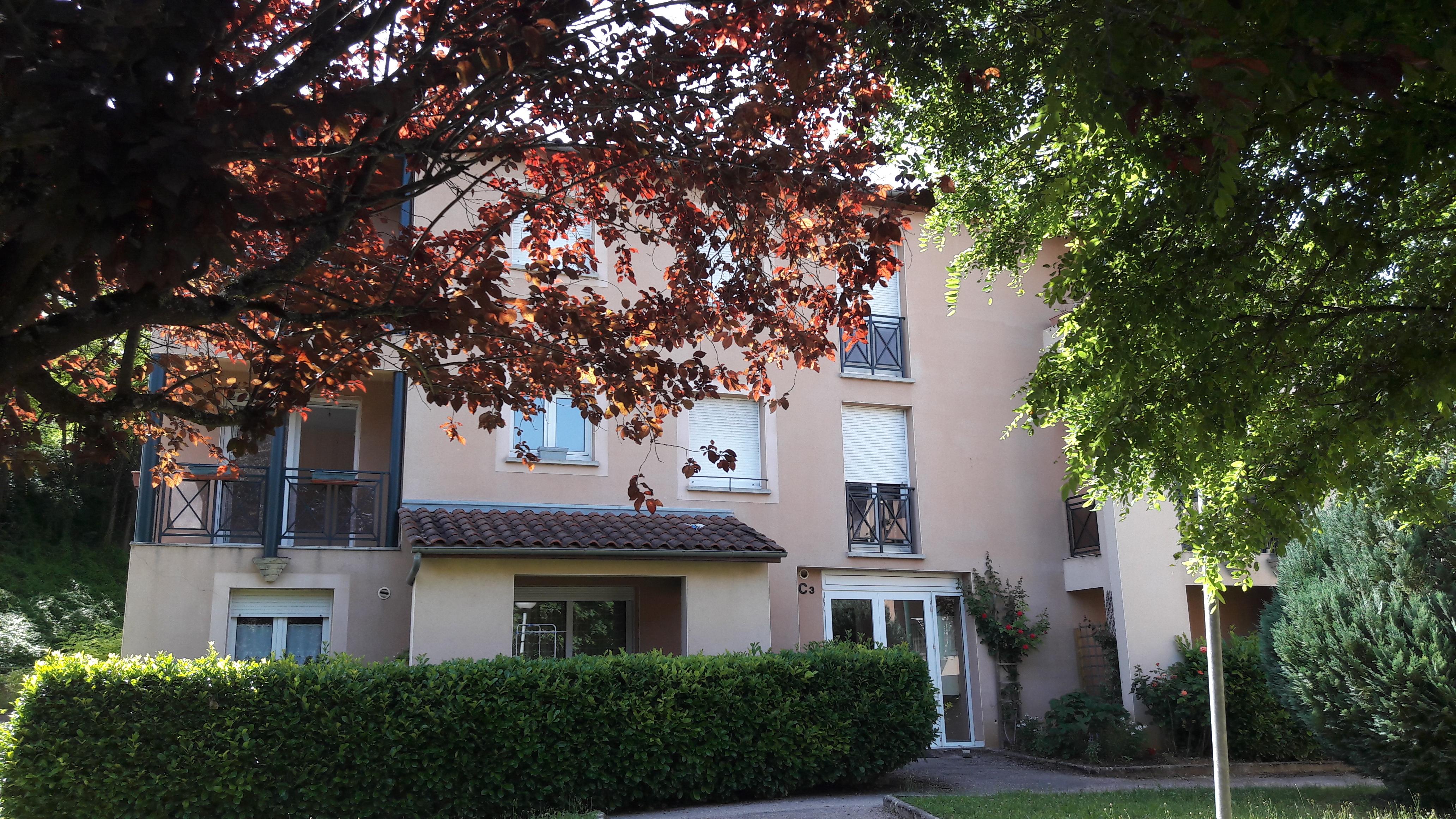 Appartement T2 en résidence à vendre à FIGEAC