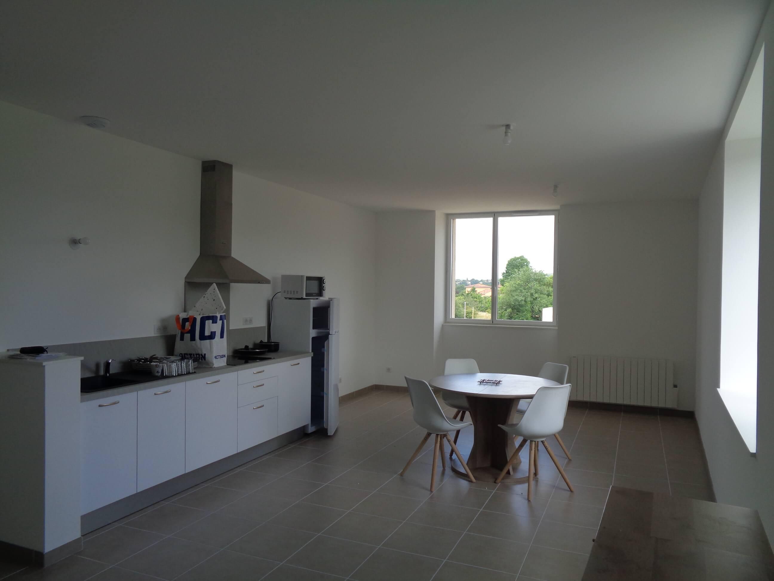 Appartement T2 meublé neuf à louer sur les hauteurs de FIGEAC