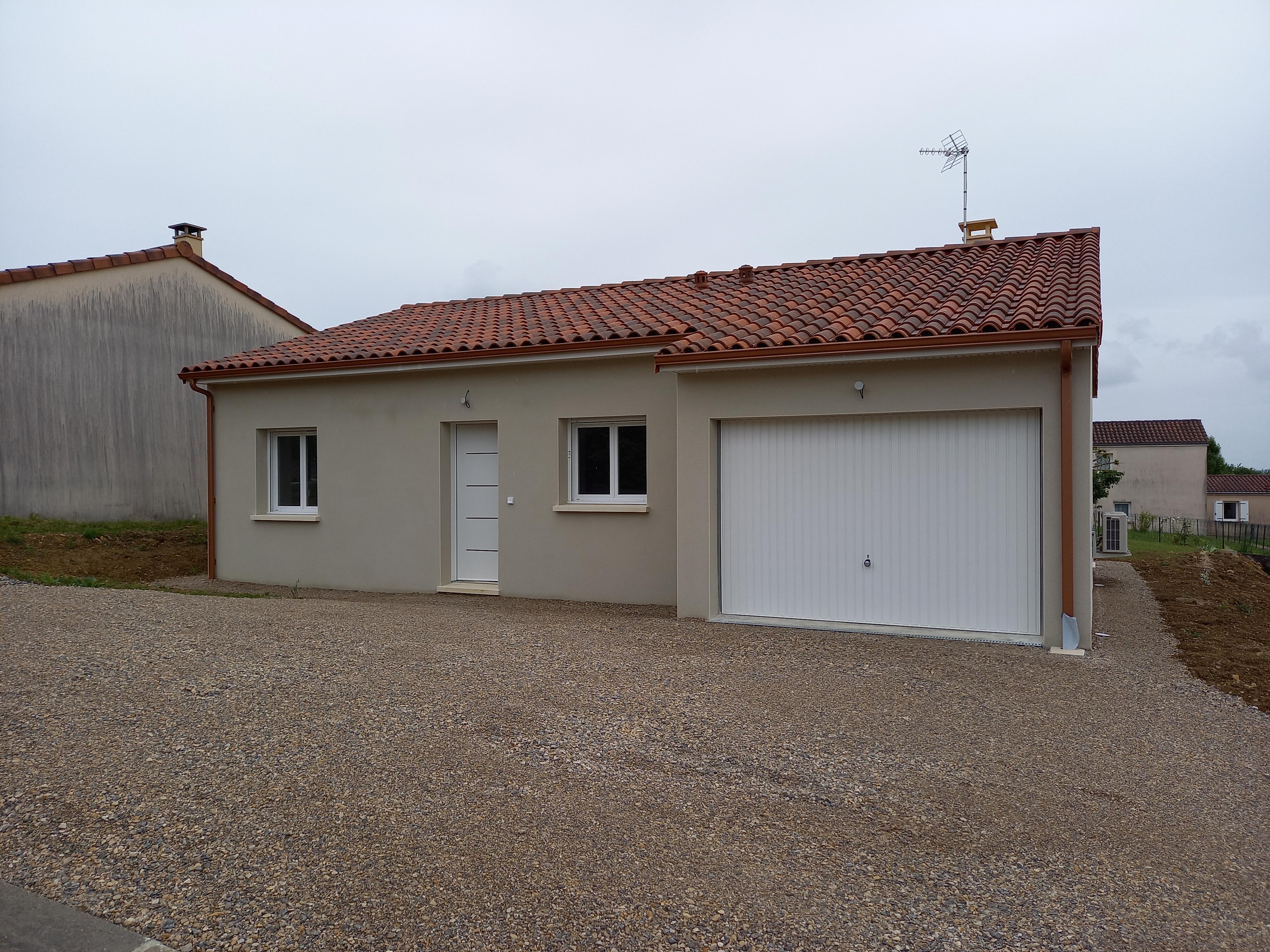Maison T3 neuve à louer à 10 mn de FIGEAC
